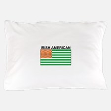 Irish American Flag 4 Pillow Case