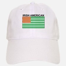 Irish American Flag 4 Baseball Baseball Cap