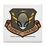 Planet Patrol Tile Coaster