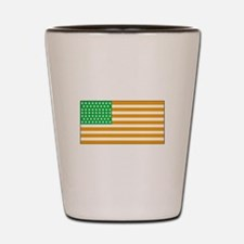 Irish American Flag 2 Shot Glass