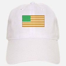 Irish American Flag 2 Baseball Baseball Cap