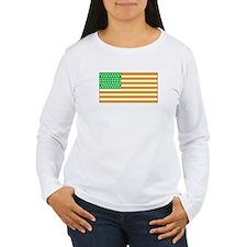 Irish American Flag 2 Long Sleeve T-Shirt