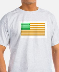 Irish American Flag 2 T-Shirt