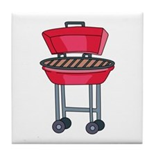 BBQ Grill Tile Coaster