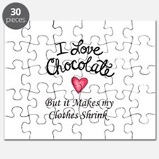 I LOVE CHOCOLATE Puzzle
