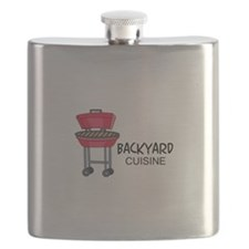 Backyard Cuisine Flask