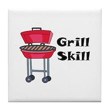 Grill Skill Tile Coaster