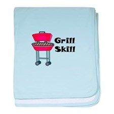 Grill Skill baby blanket