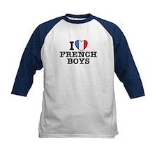 I Love French Boys Tee