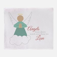 Angels From Above Throw Blanket