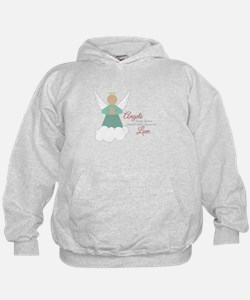 Angels From Above Hoodie