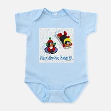 Penguin Infant Creeper: Play like you...