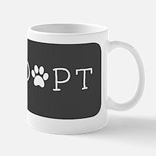 Adopt (Grey Logo) Mug