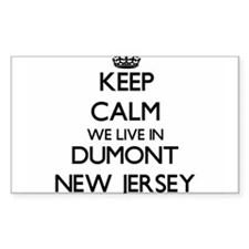 Keep calm we live in Dumont New Jersey Decal