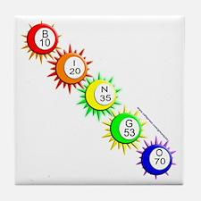 B-I-N-G-O! Tile Coaster