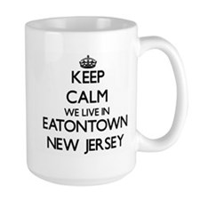 Keep calm we live in Eatontown New Jersey Mugs