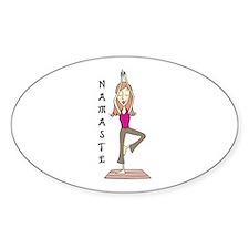 Namaste Decal
