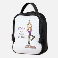 Yoga Is A Way Of Life Neoprene Lunch Bag