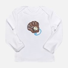 Baseball Glove& Ball Long Sleeve T-Shirt