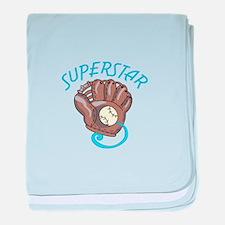 Superstar baby blanket