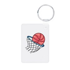 Basketball Hoop Keychains