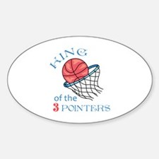 King Of The 3 Pointers Decal