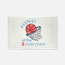 King Of The 3 Pointers Magnets