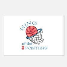 King Of The 3 Pointers Postcards (Package of 8)