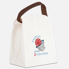 King Of The 3 Pointers Canvas Lunch Bag