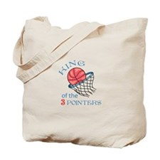 King Of The 3 Pointers Tote Bag