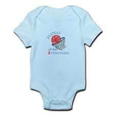 King Of The 3 Pointers Body Suit