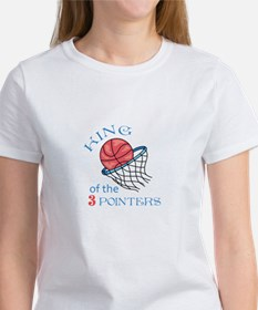 King Of The 3 Pointers T-Shirt