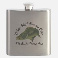 WHEN HELL FREEZES OVER Flask