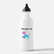 Custom Dinosaur Running Water Bottle