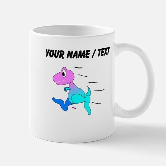Custom Dinosaur Running Mugs