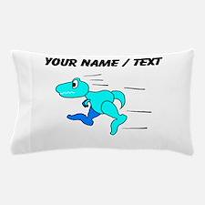 Custom Dinosaur Running Pillow Case