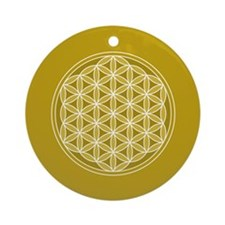Flower of Life GW Ornament (Round)