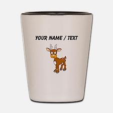 Custom Cartoon Deer Shot Glass