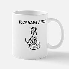 Custom Lucky The Dalmatian Mugs