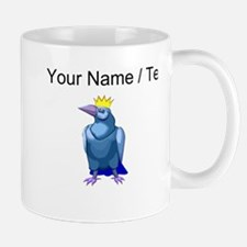 Custom Crow Wearing Crown Mugs