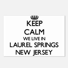 Keep calm we live in Laur Postcards (Package of 8)
