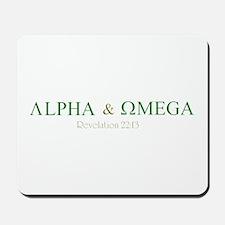 Camo Alpha Omega Mousepad