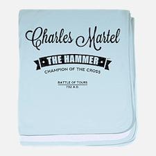 Charles Martel baby blanket