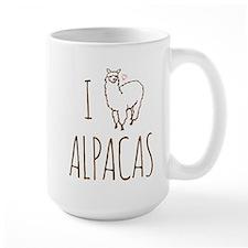 I Love Alpacas Mug