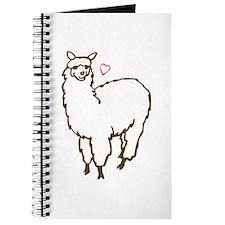 Cute Alpaca Journal