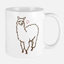 Cute Alpaca Small Small Mug