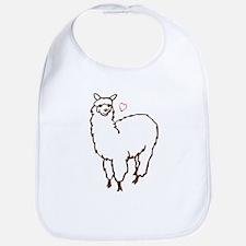 Cute Alpaca Bib