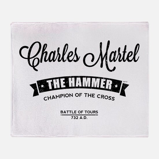 Charles Martel Throw Blanket