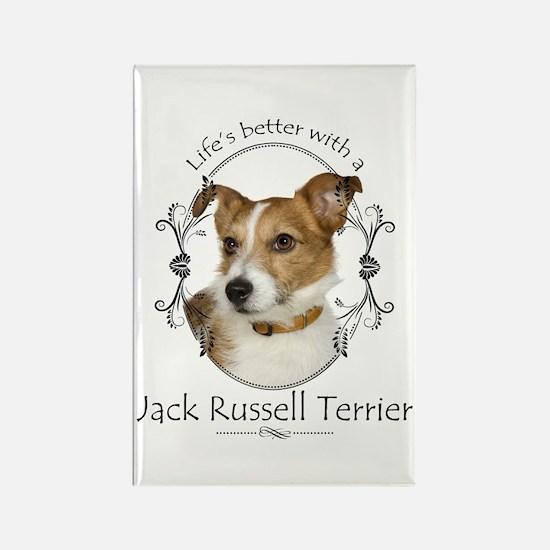 Life's Better Terrier Magnets