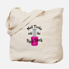 THE FINAL TOUCH Tote Bag